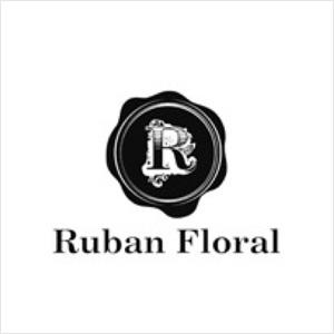 Ruban Floral ロゴマーク